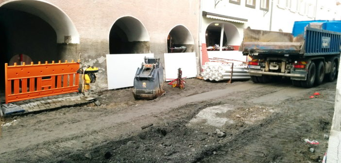 Mühlgasse Bludenz Baustelle