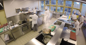 Tourismusschule Bludenz Küche