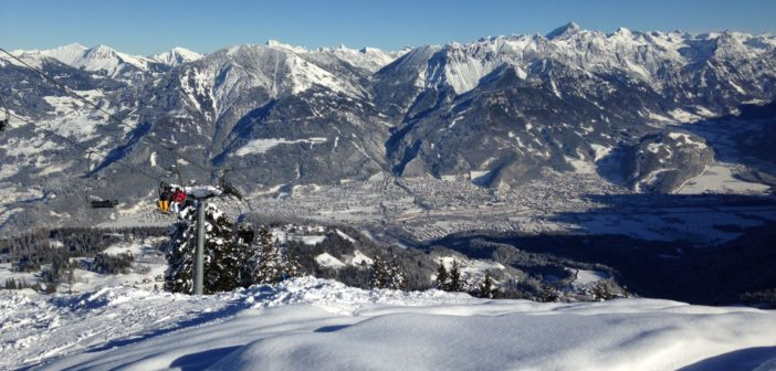 Winter in der Alpenregion