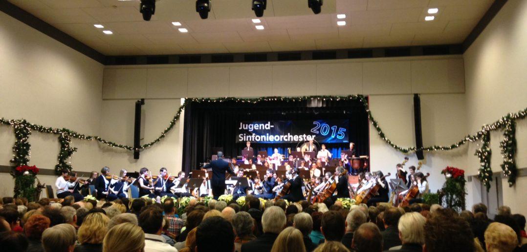Das Jugendsinfonieorchester des Bezirk Bludenz