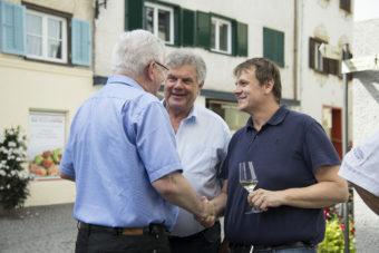 Mandi und Christoph Thoma im Gespräch